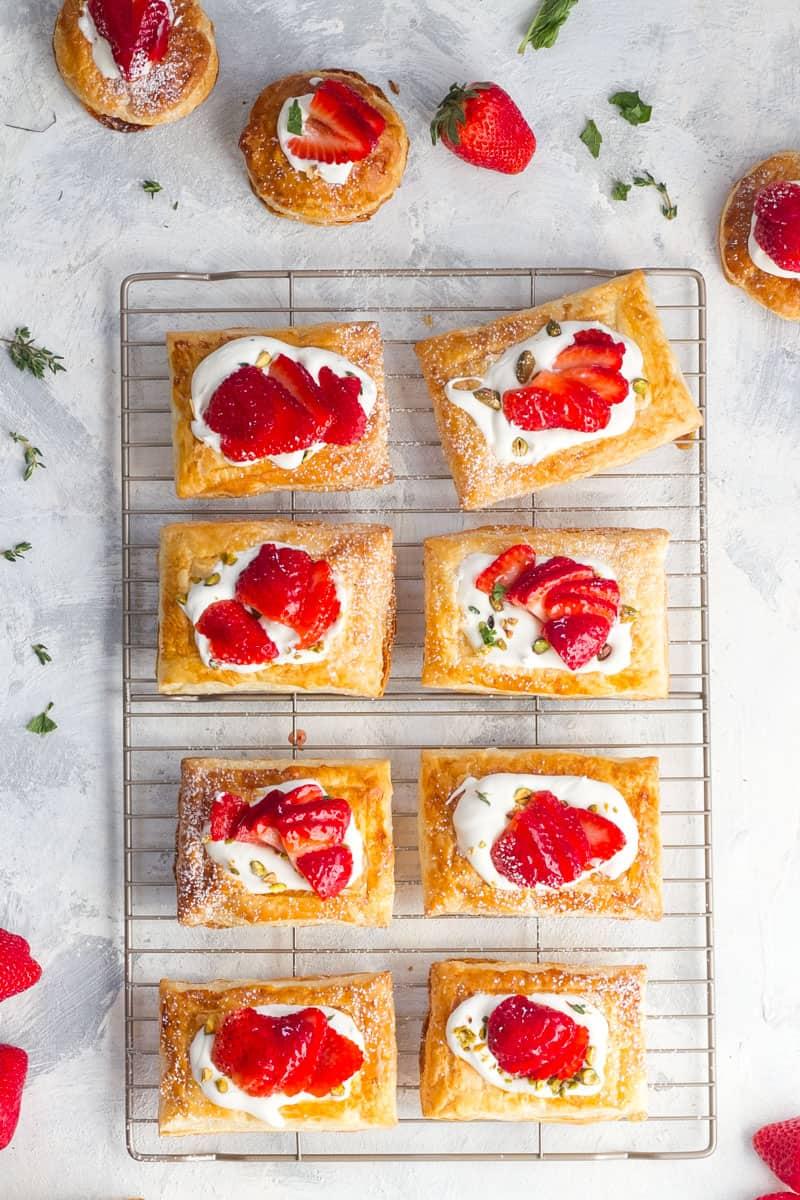 Brush the Strawberry Jam On Strawberries
