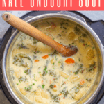 This creamy vegetable gnocchi soup is made with cauliflower gnocchi (or traditional potato gnocchi) and kale, and is a quick and easy Instant Pot meal! (Stovetop directions included.)