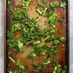 Bake Kale Until Crispy
