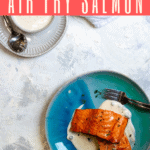 Love salmon? Try making air fryer salmon fillets with your Instant Pot Air Fryer Basket! It's simple, delicious, and ready in minutes.