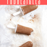 These easy homemade fudgesicles are made with sugar, cocoa powder, milk, and yogurt for a delicious frozen treat. For an extra-fabulous dessert, add a little bourbon!