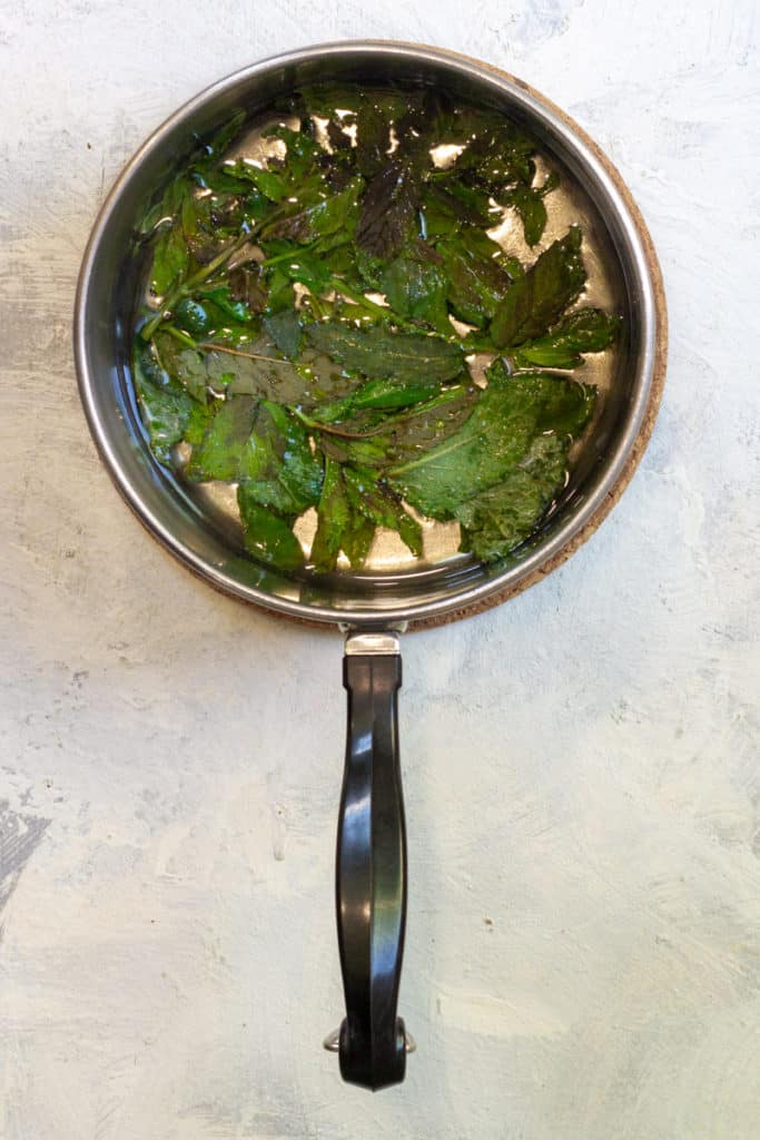 Make Mint Simple Syrup