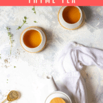 Love herbal tea? Learn how to make thyme tea using either fresh or dried thyme. Plus, try different versions of the tea by adding other herbs, spices, or tea.