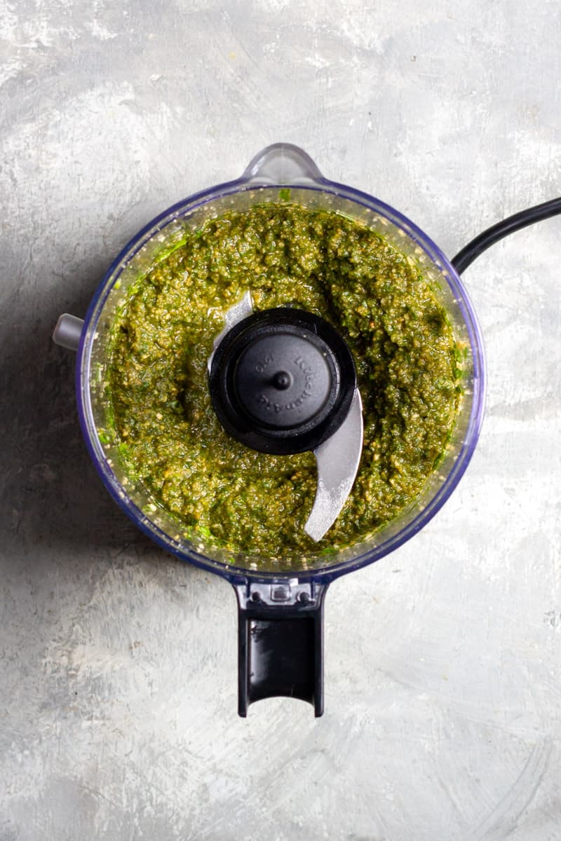 Blend with Olive Oil Until Smooth