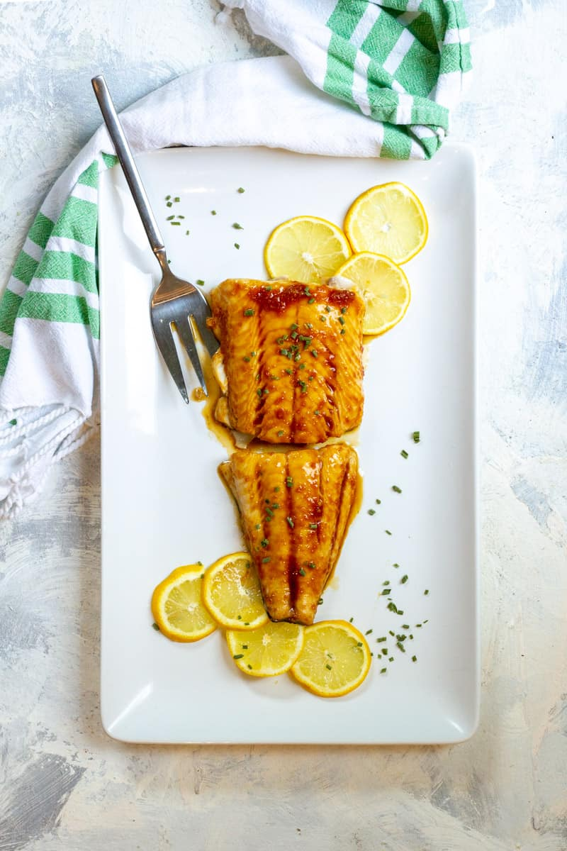 baked sablefish (black cod) with teriyaki