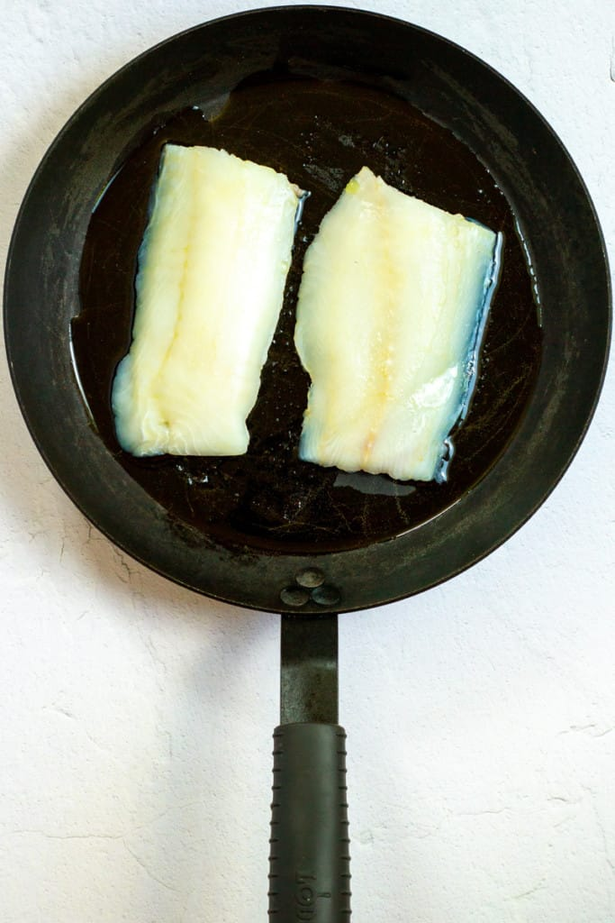Place Cod in an Oiled Oven-Safe Pan