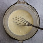 Whisk Until All Cream Is Incorporated