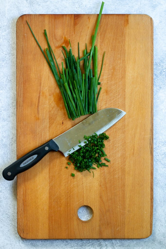 Finely Dice Chives