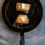 Flip Halibut + Add More Butter