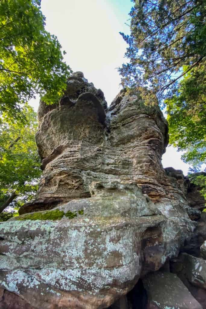 Rock Formation at West Pinnacle