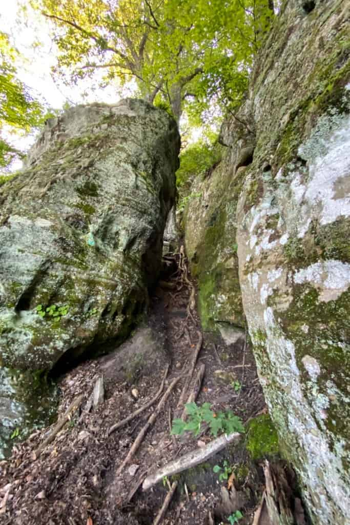 Rock Scramble Along the Path