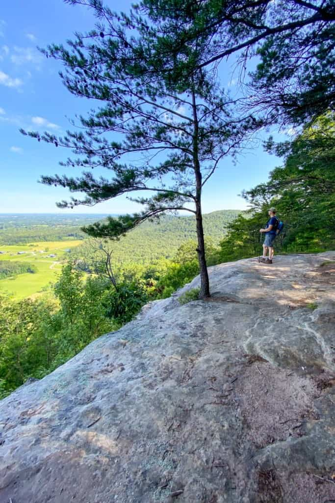 Overlook Along the Trail