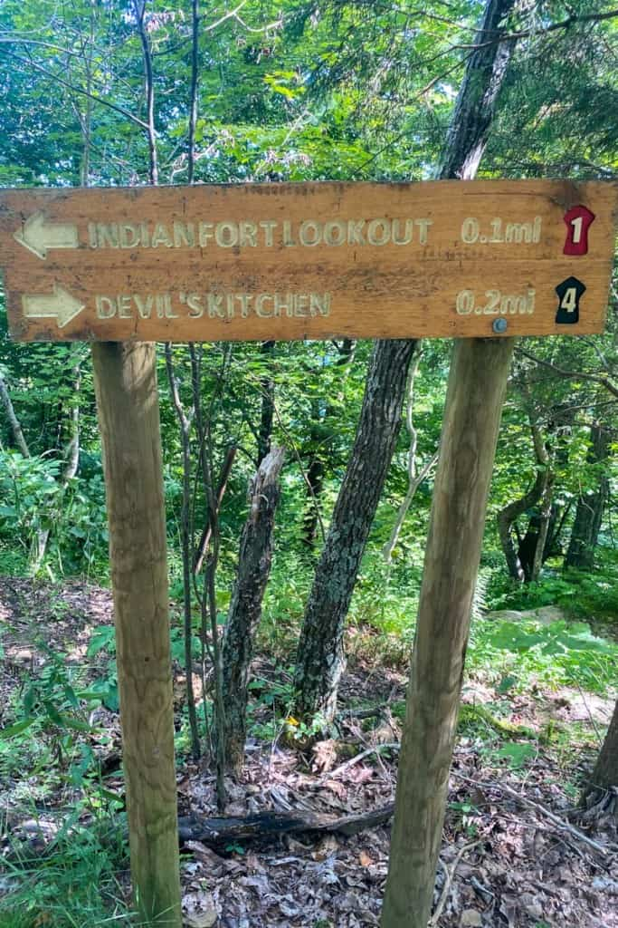 Head Towards Devil's Kitchen