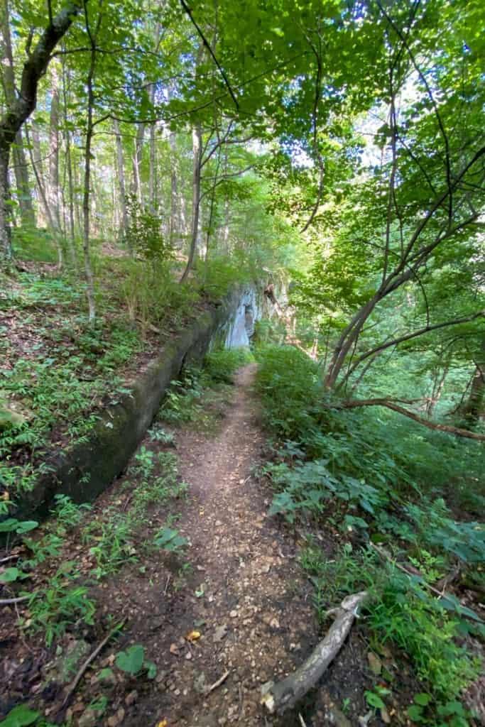 Steep Trail to Devil's Kitchen