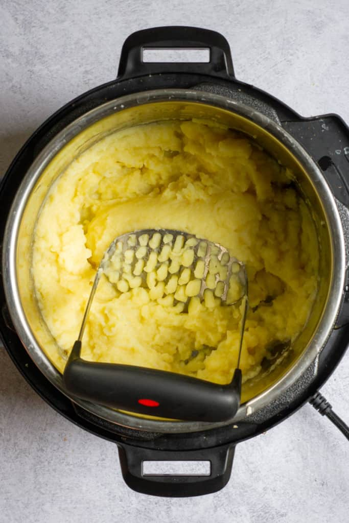 Mash Potatoes with a Ricer or Masher