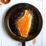 Rub Fish with Blackening Seasoning
