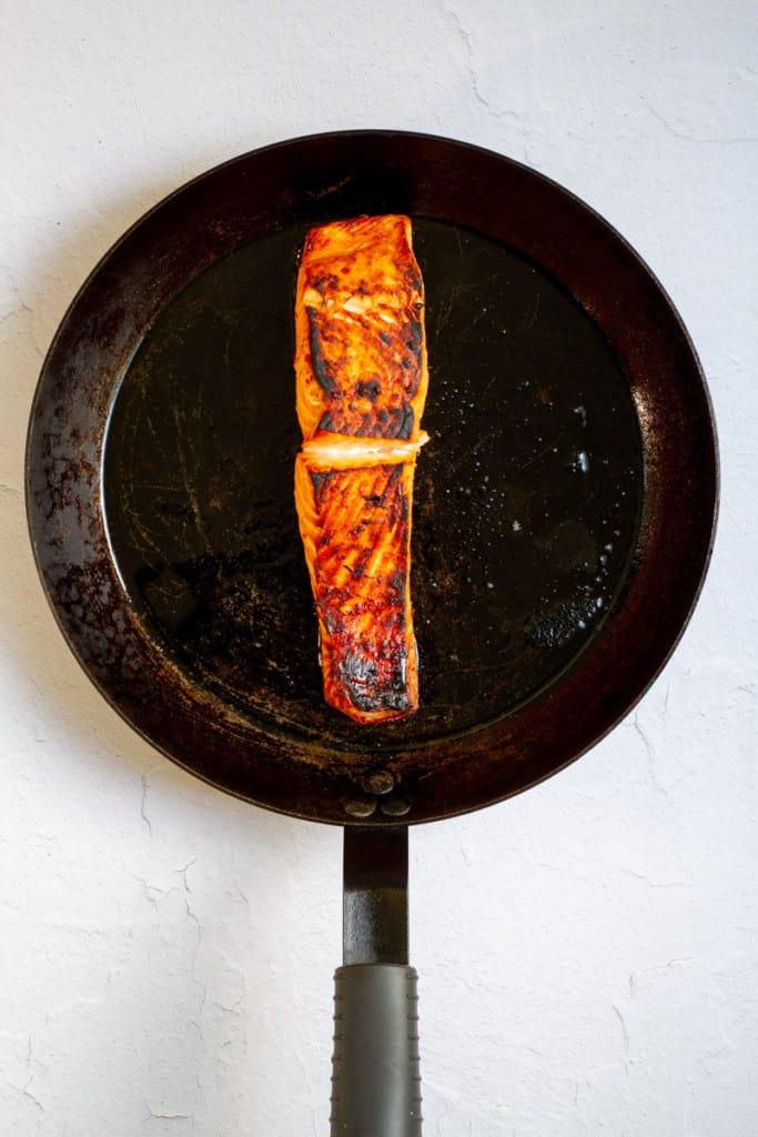 Broil Salmon Until Tender