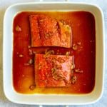 Marinate the Salmon