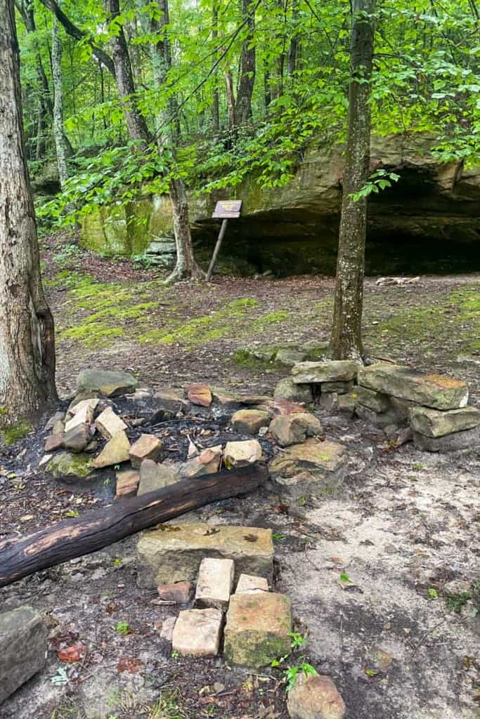 Johnson Homeplace Backcountry Campsite