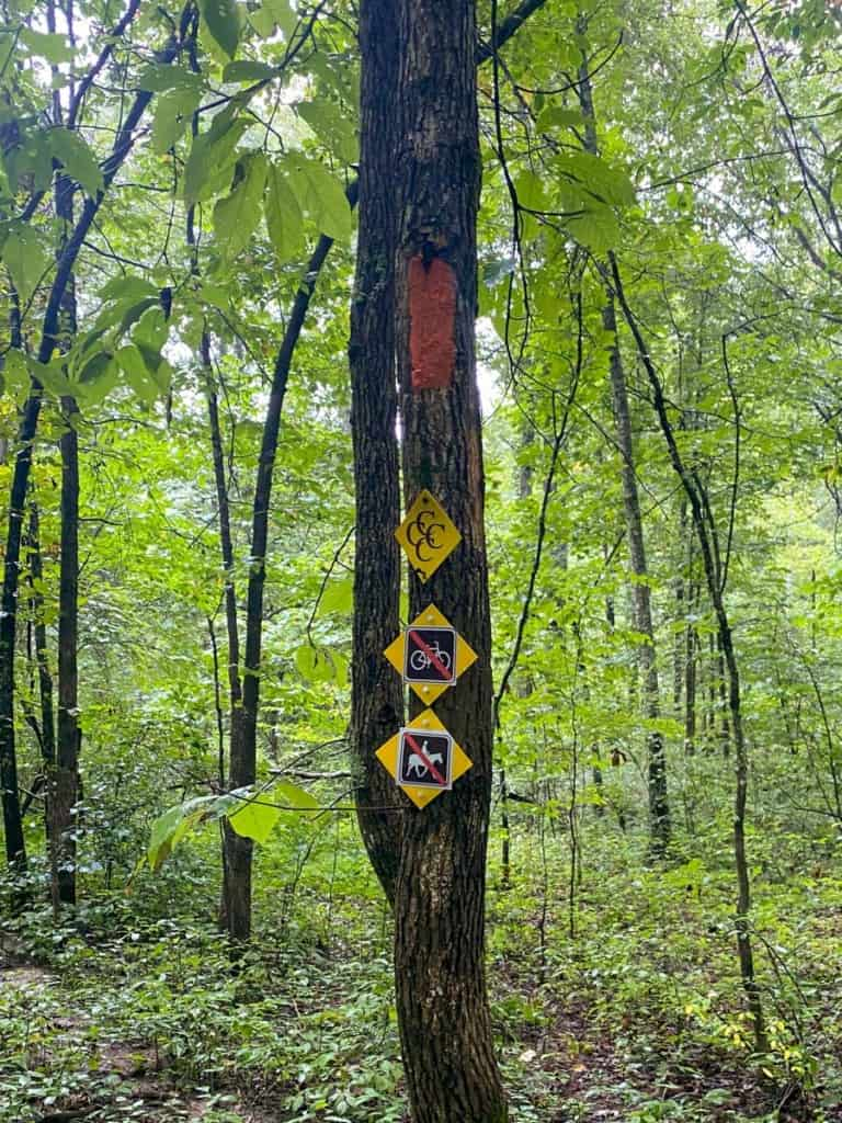 4C's Trail Markers
