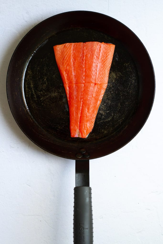 Place Fish in an Oven-Safe Pan