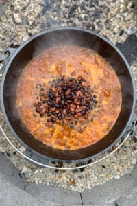 Add Beans to the Campfire Chili