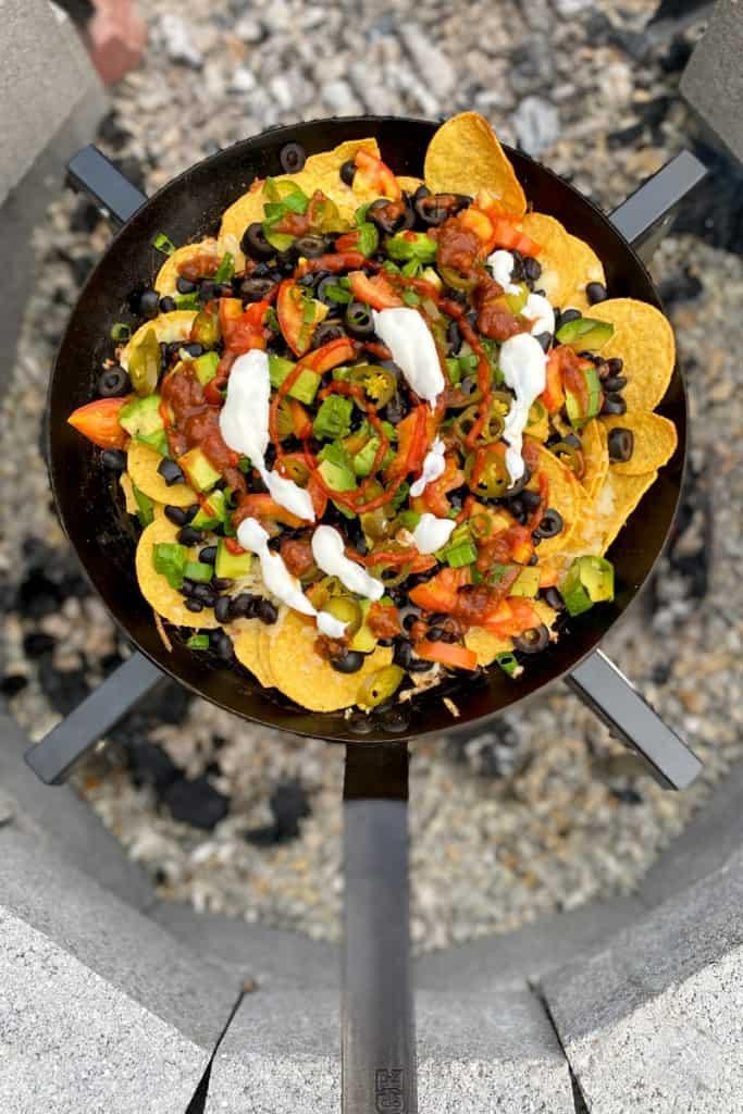Top with Hot Sauce, Salsa + Garlic Sauce