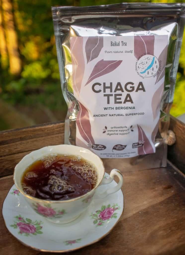 Chaga Tea from Baikal Tea