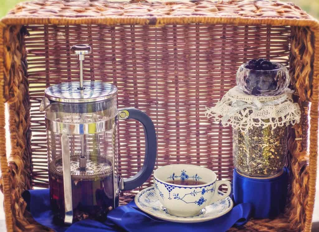 Brewing Herbals in a French Press
