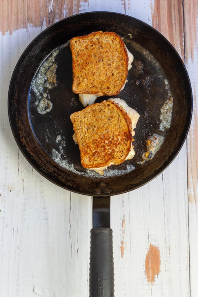 Grill Until the Bread is Golden