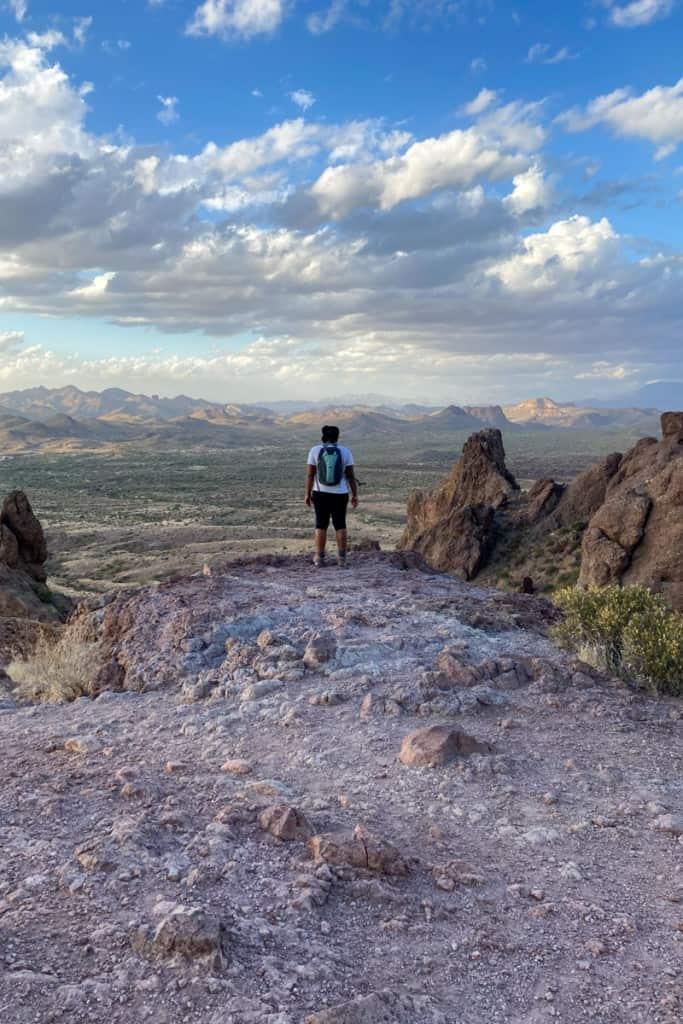 Overlook on the Treasure Loop Trail