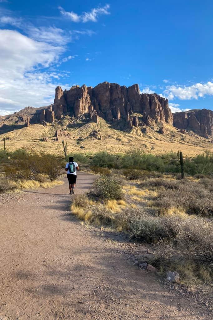 Hiking the Treasure Loop Trail