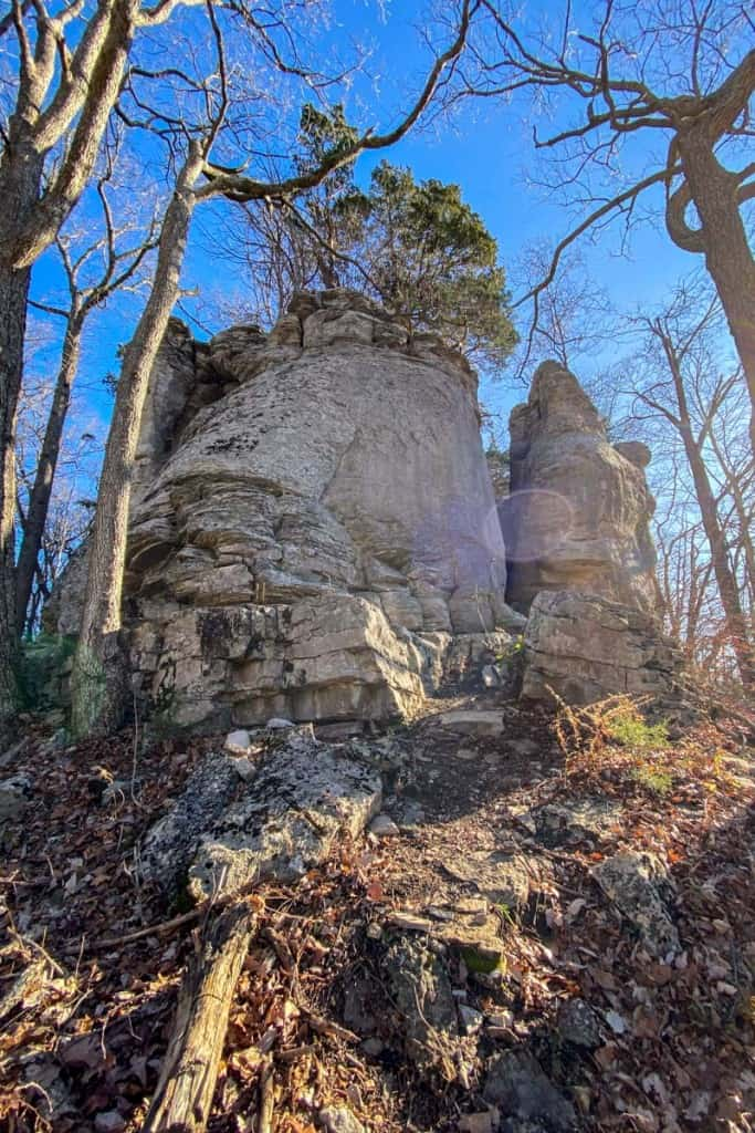 Rock Formation on Basin Mountain