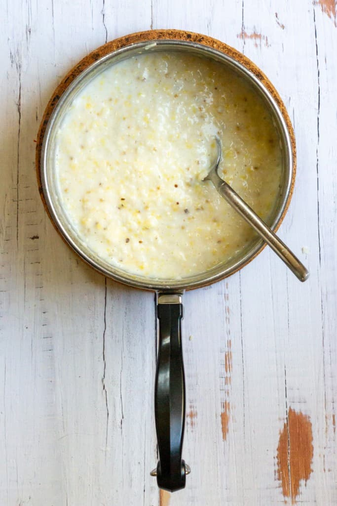 Stir Cheese Into Grits
