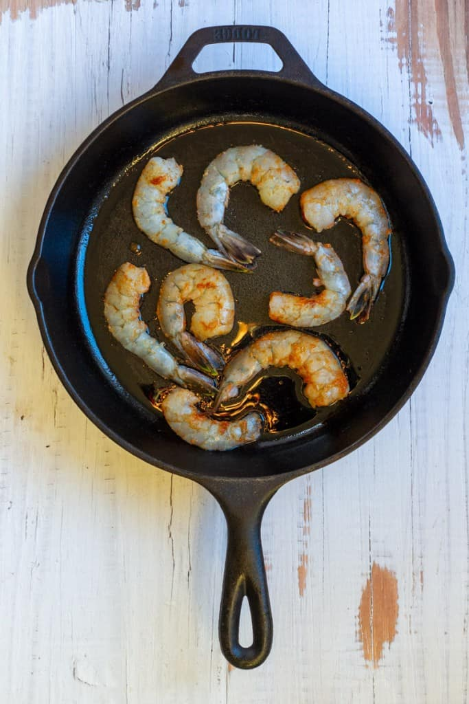 Add Shrimp to a Hot Pan