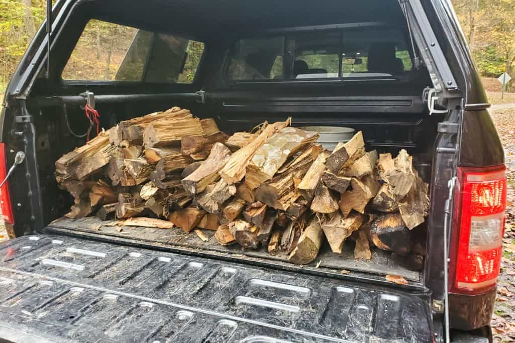 Loading Up on Firewood