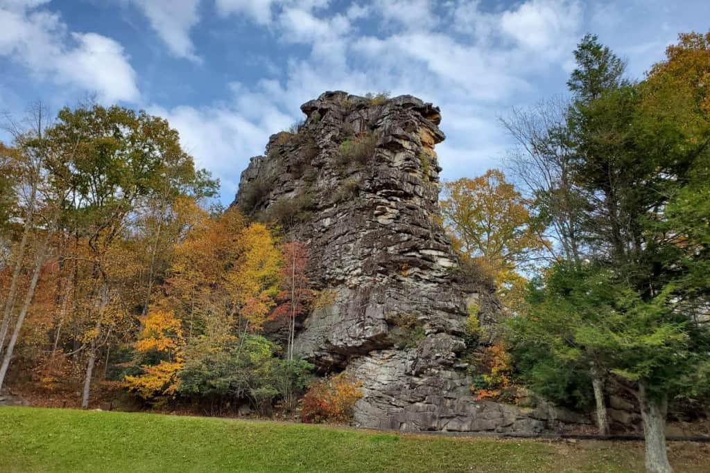 Pinnacle Rock state park views