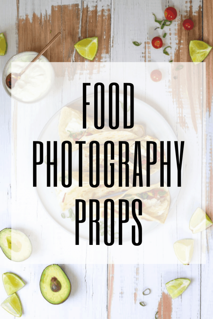 """graphic reading """"food photography props"""""""