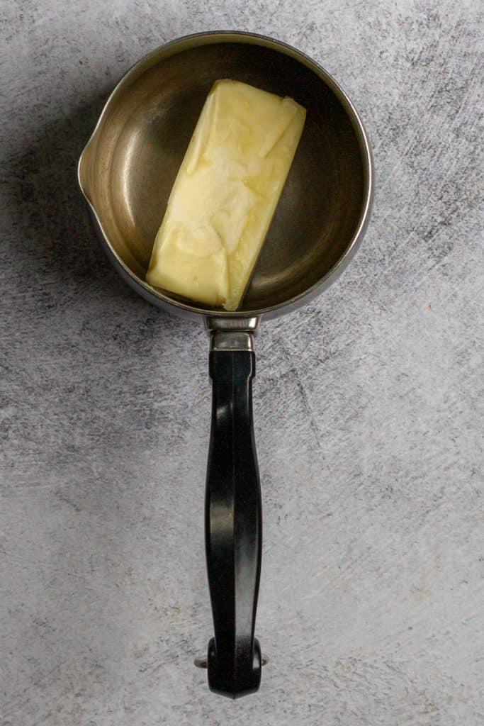 Add Butter To Saucepan