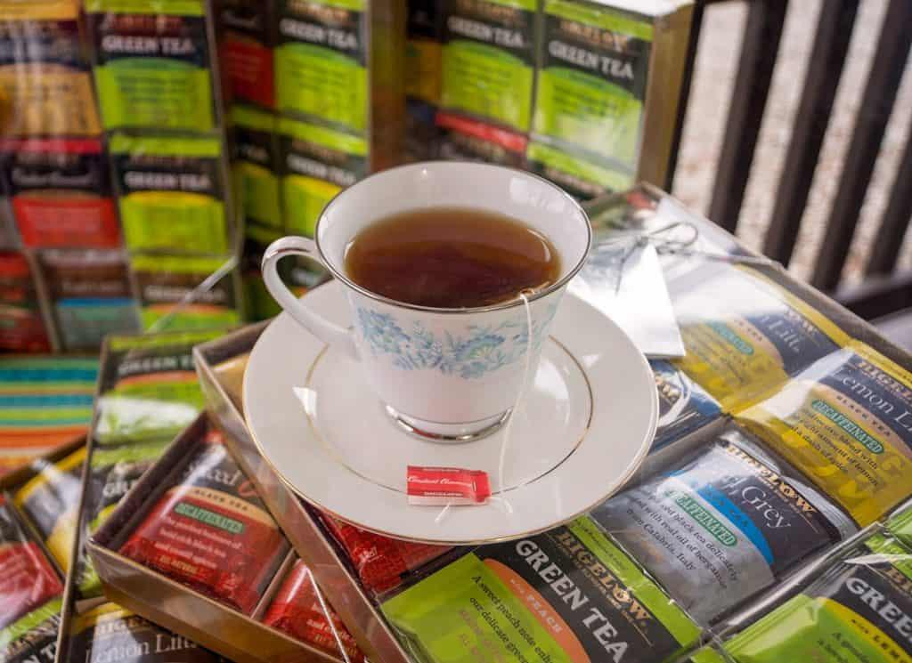 Tea from Tea Bags