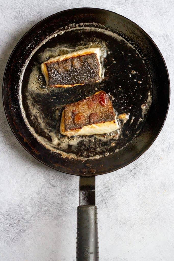 Flip the Black Cod (Sablefish)