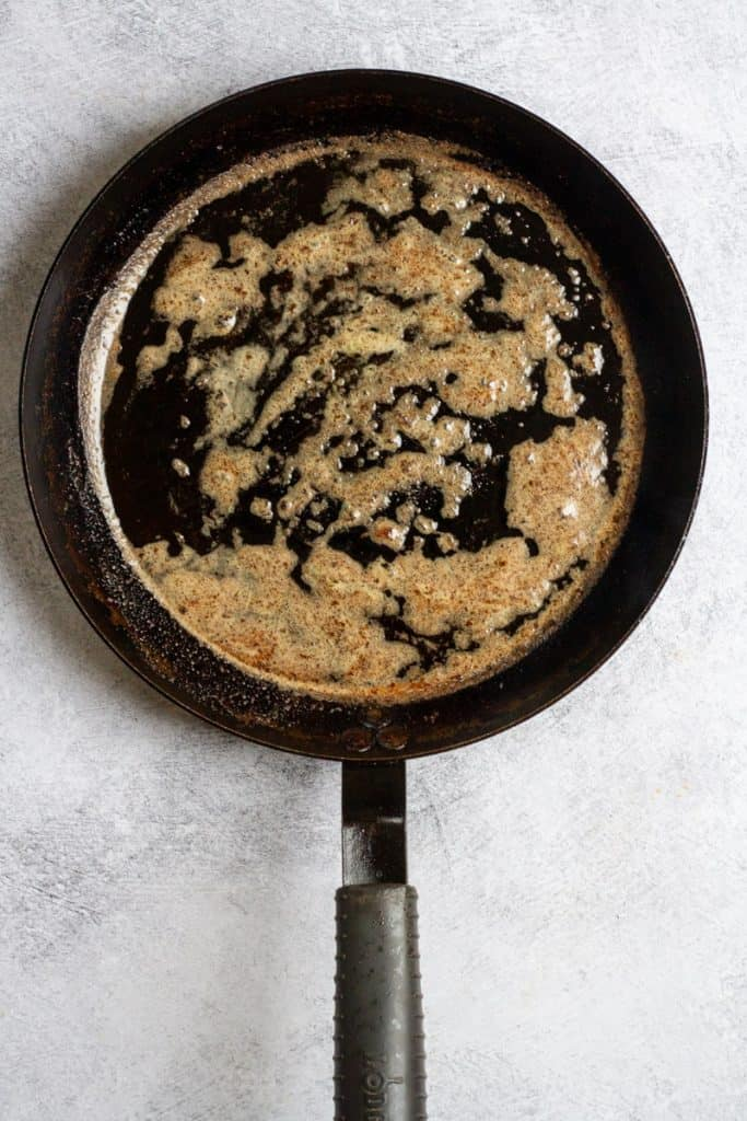 Brown Butter in the Pan