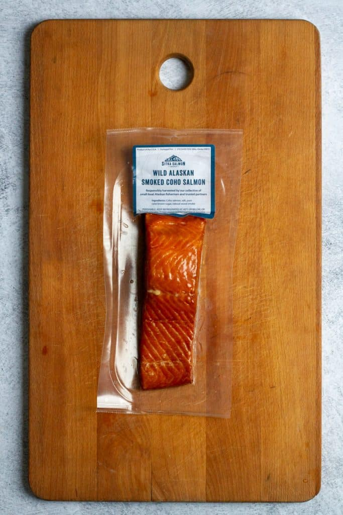 Vacuum-Sealed Hot-Smoked Salmon from Community Supported Fishery