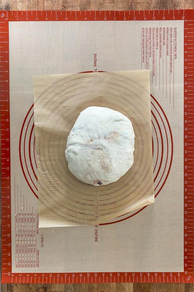 Roll Into a Ball + Place on Parchment