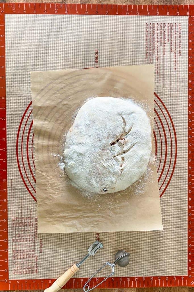 Flour + Score the Bread