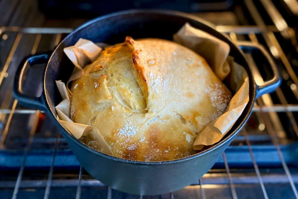 Remove the Dutch Oven lid