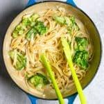 Toss Pasta + Broccoli in the Sauce