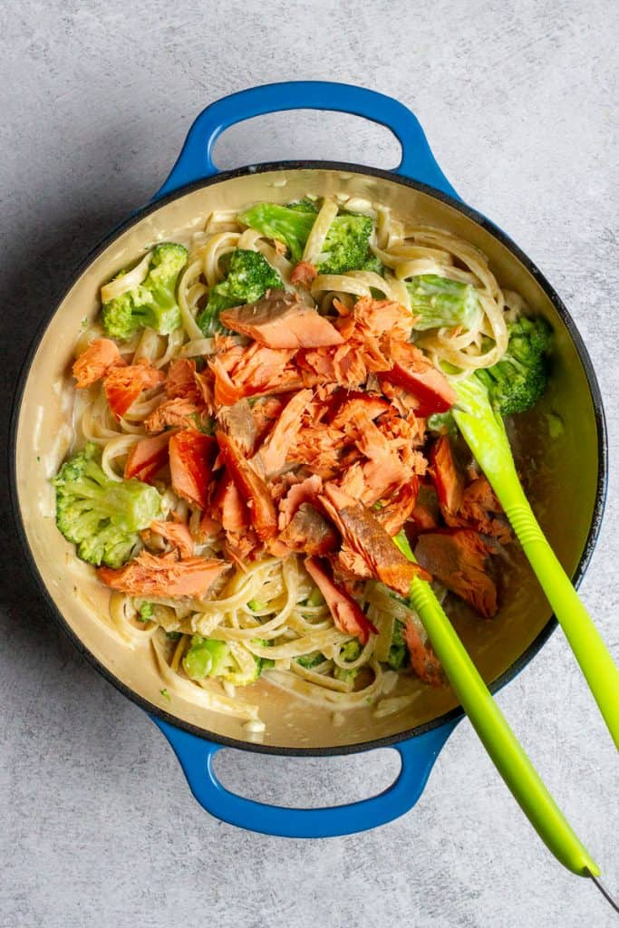 Add Smoked Salmon to Pasta