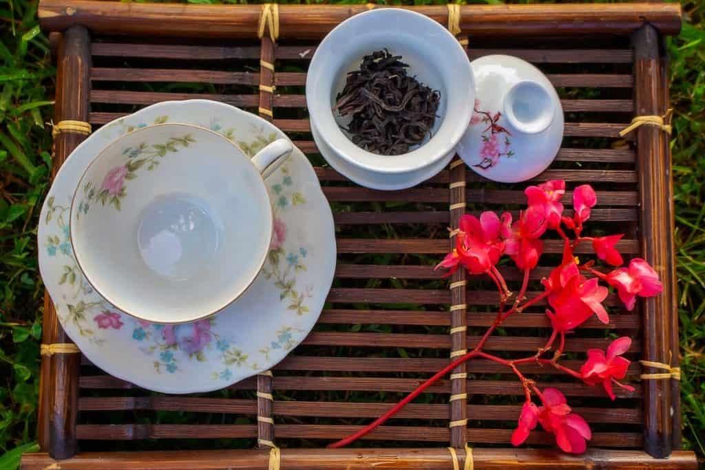 Gaiwan and teacup