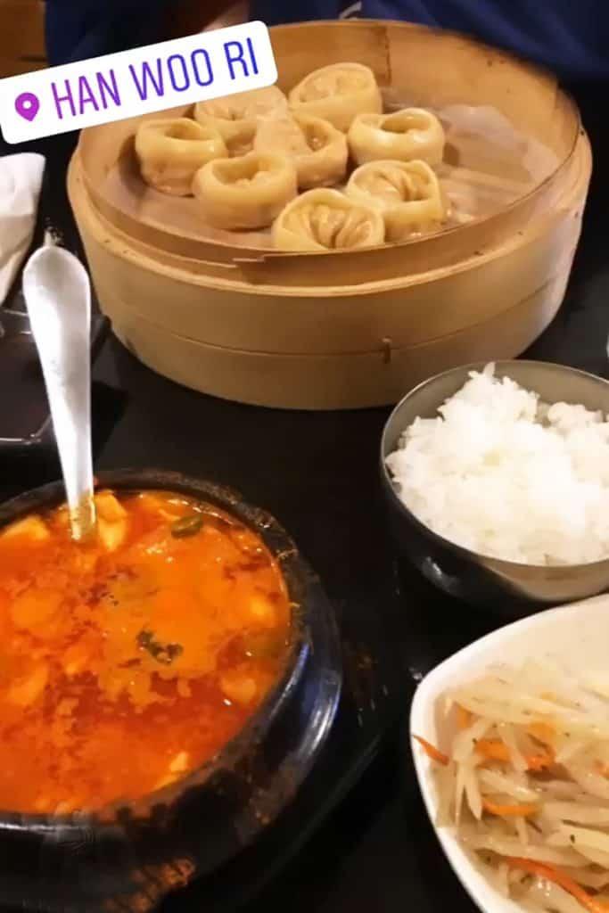 Soon Doo Boo and Steamed Dumplings